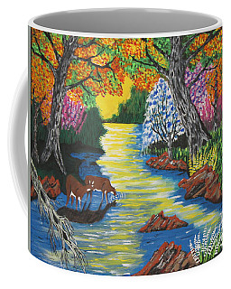 Summer Crossing Coffee Mug by Jeffrey Koss