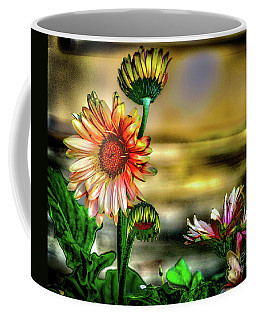 Coffee Mug featuring the photograph Summer Daisy by William Norton