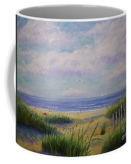 Summer Day At The Beach Coffee Mug