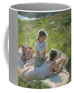 Summer Day On The Grass  Coffee Mug