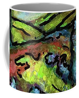 Coffee Mug featuring the painting Summer Day by Rae Chichilnitsky