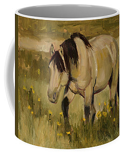 Coffee Mug featuring the painting Summer Days by Billie Colson