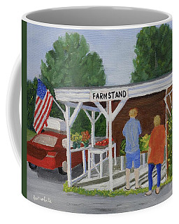 Summer Farm Stand Coffee Mug