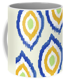Summer Ikat- Art By Linda Woods Coffee Mug