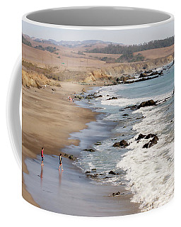 Coffee Mug featuring the photograph Summer In San Simeon by Art Block Collections