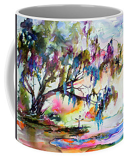 Summer In The Garden Of Good And Evil Watercolor Coffee Mug