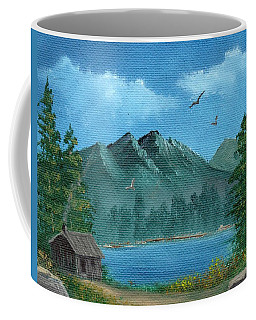 Summer In The Mountains Coffee Mug