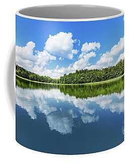 Summer Lake Landscape. Coffee Mug