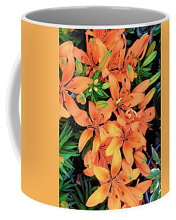 Summer Lily Coffee Mug