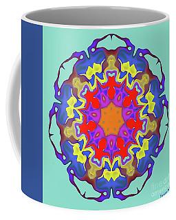 Summer Mandala Coffee Mug by Dragica Micki Fortuna