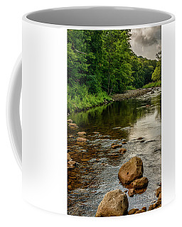Coffee Mug featuring the photograph Summer Morning Williams River by Thomas R Fletcher