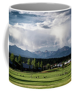 Summer Mountain Paradise Coffee Mug