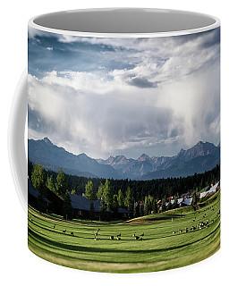 Coffee Mug featuring the photograph Summer Mountain Paradise by Jason Coward