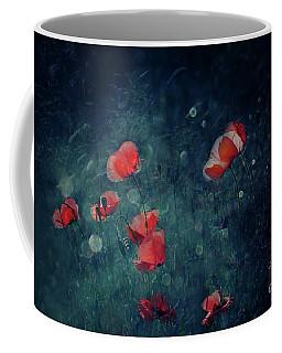 Summer Night Coffee Mug by Agnieszka Mlicka