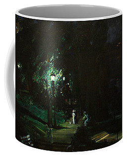 Summer Night Riverside Drive Coffee Mug