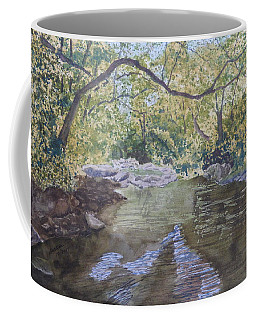 Summer On The South Tow River Coffee Mug