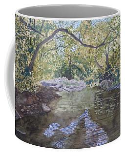 Summer On The South Tow River Coffee Mug by Joel Deutsch