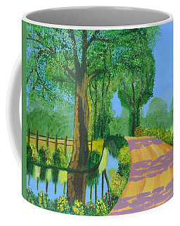 Summer Path Coffee Mug