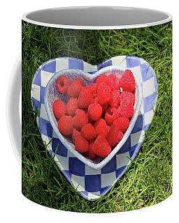 Summer Raspberries Coffee Mug