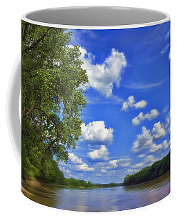 Summer River Glory Coffee Mug