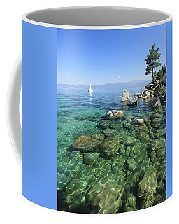Coffee Mug featuring the photograph Summer Sail Portrait by Sean Sarsfield