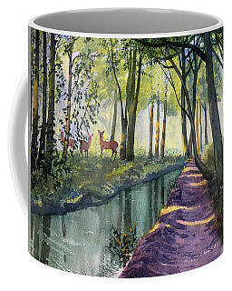 Summer Shade In Lowthorpe Wood Coffee Mug