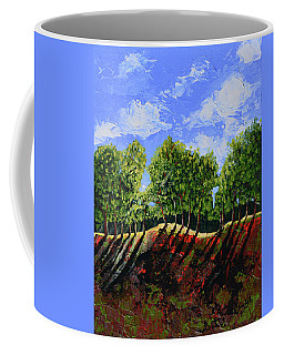 Summer Shadows Coffee Mug by Donna Blackhall