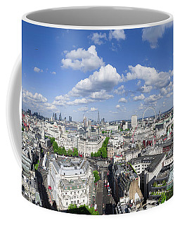 Summer Skies Over London Coffee Mug