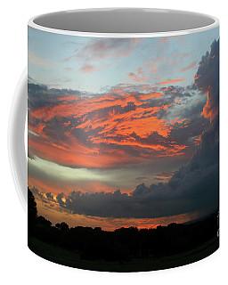 Summer Sky On Fire  Coffee Mug