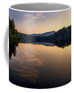 Price Lake Sunset - Blue Ridge Parkway Coffee Mug