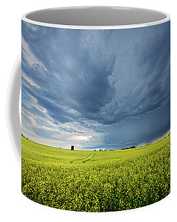 Summer Storm Over Alberta Coffee Mug
