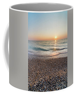 Summer Sunset At Pierport  Coffee Mug