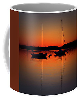Summer Sunset Calm Anchor Coffee Mug