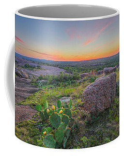 Summer Sunset From Enchanted Rock State Natural Area 4 Coffee Mug