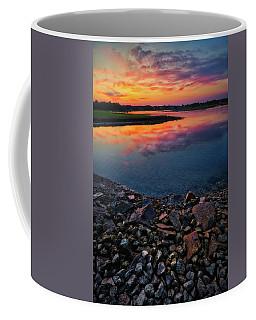 Summer Sunset In Rye Coffee Mug