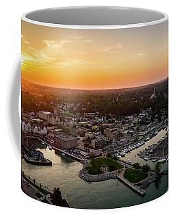 Summer Sunset In The Sky Coffee Mug