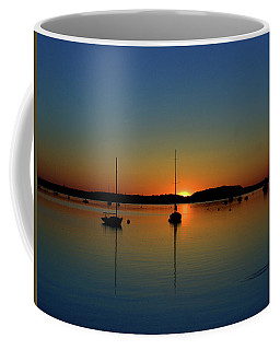 Summer Sunset Monument Beach Coffee Mug