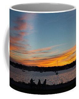 Summer Sunset With Friends Coffee Mug