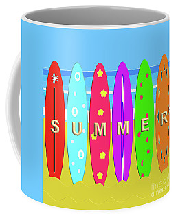 Summer Surf Coffee Mug