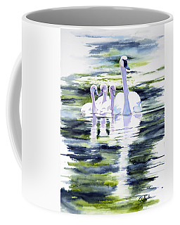 Summer Swans Coffee Mug