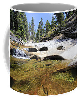 Summer Swimming Hole Coffee Mug by Sean Sarsfield