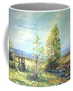 Summer Time Coffee Mug by Dorothy Maier