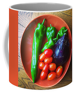 Summer Vegetables Coffee Mug by Hamamura86