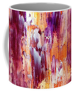Summer Waterfall Abstract Coffee Mug