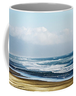Summer Waves Netarts Oregon Coffee Mug