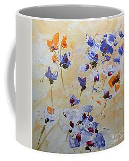 Summer Wildflowers  Coffee Mug by Barbara Tibbets