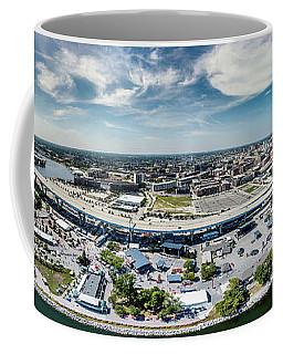 Coffee Mug featuring the photograph Summerfest Panorama by Randy Scherkenbach