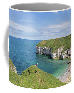 Summers Day At  Flamborough North Landing Coffee Mug