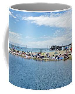 Summers End Capitola Beach Coffee Mug