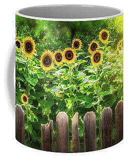 Summer's Sunflowers Coffee Mug